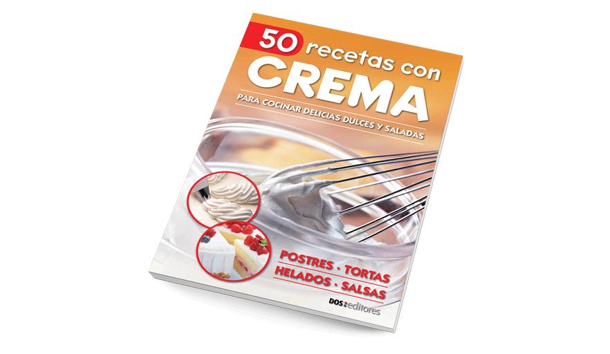 50 recetas con crema