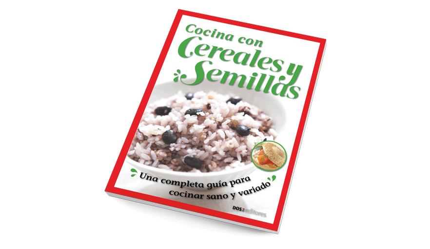 Cocina con cereales y semillas