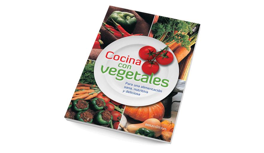 Cocina con vegetales