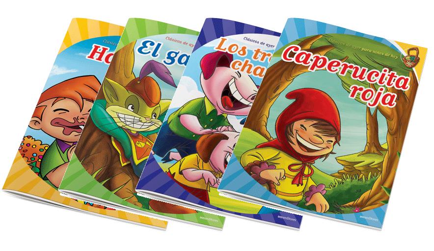 Colección CLÁSICOS INFANTILES