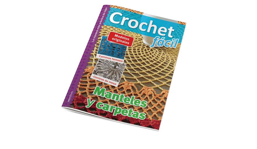 Crochet fácil: manteles y carpetas