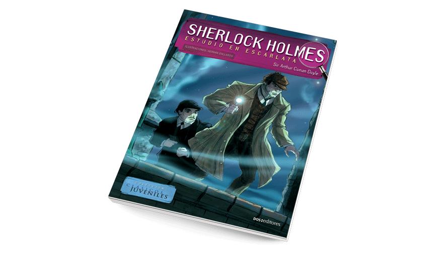 Sherlock Holmes, estudio en escarlata