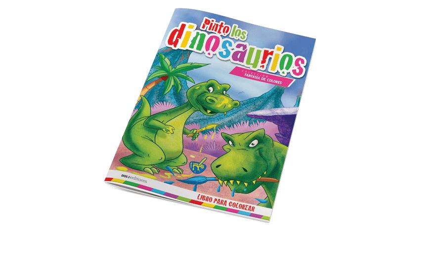 Pinto los dinosaurios