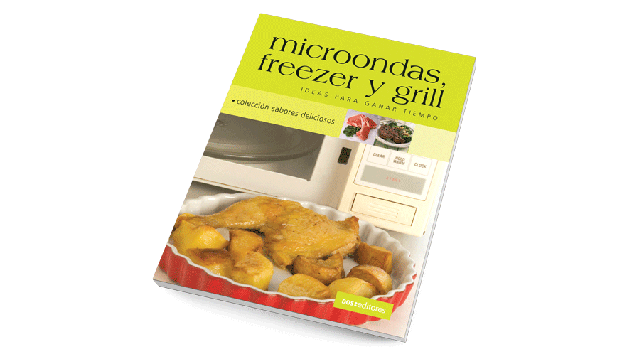 Microondas, freezer y grill