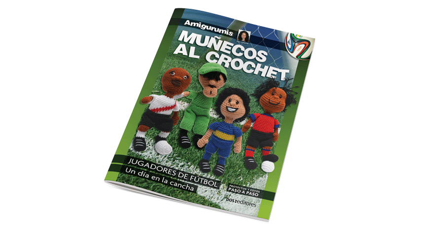 Muñecos al crochet: Jugadores de fútbol
