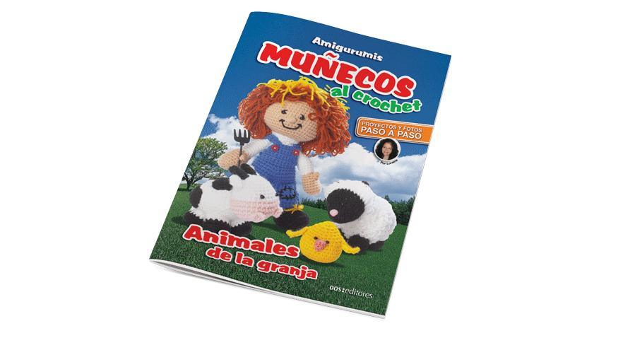 Muñecos al crochet: Animales de la granja