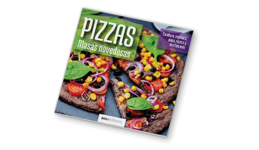 Pizzas. Masas novedosas